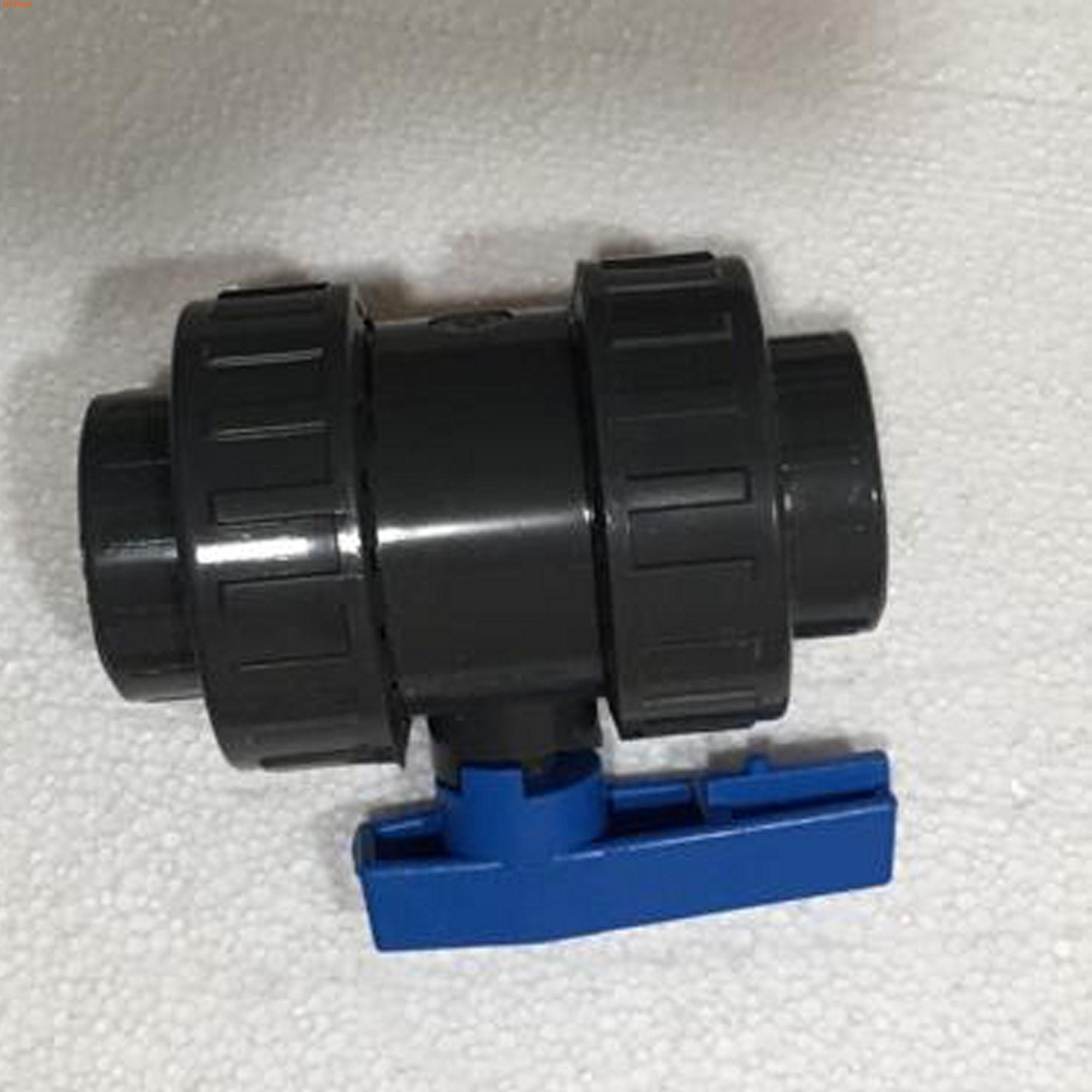 Кран шаровый ПВХ разборный под трубу 32 мм