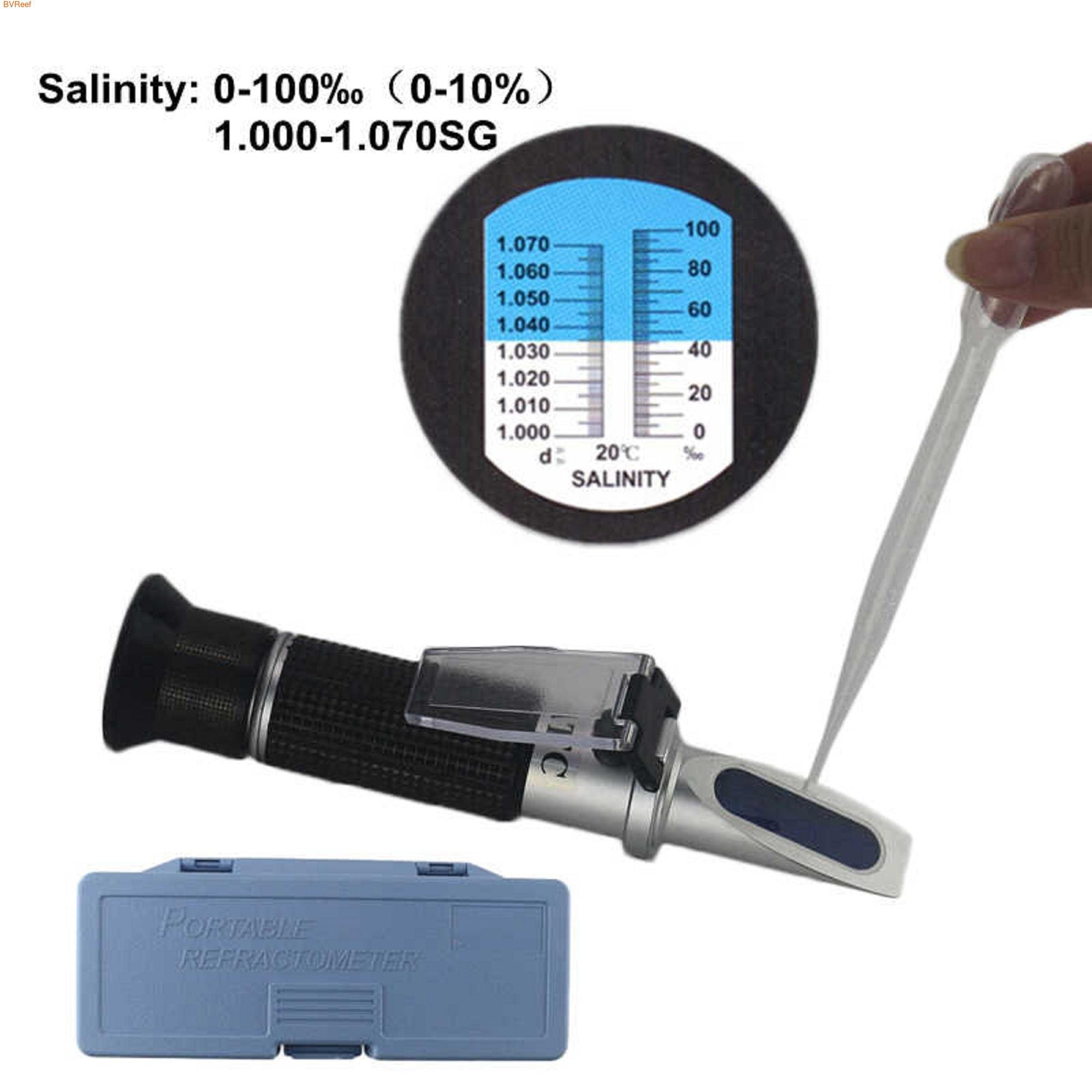 Рефрактометр АТС для измерения солености