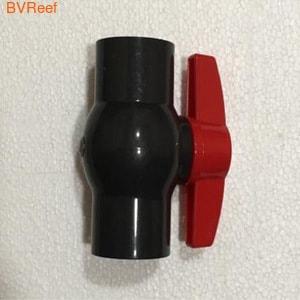 Кран шаровый ПВХ неразборный под трубу 25 мм